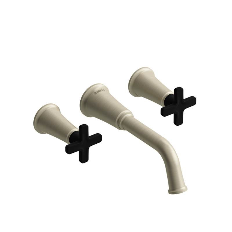 Riobel Wall Mount Tub Fillers item MMSQ05XBNBK
