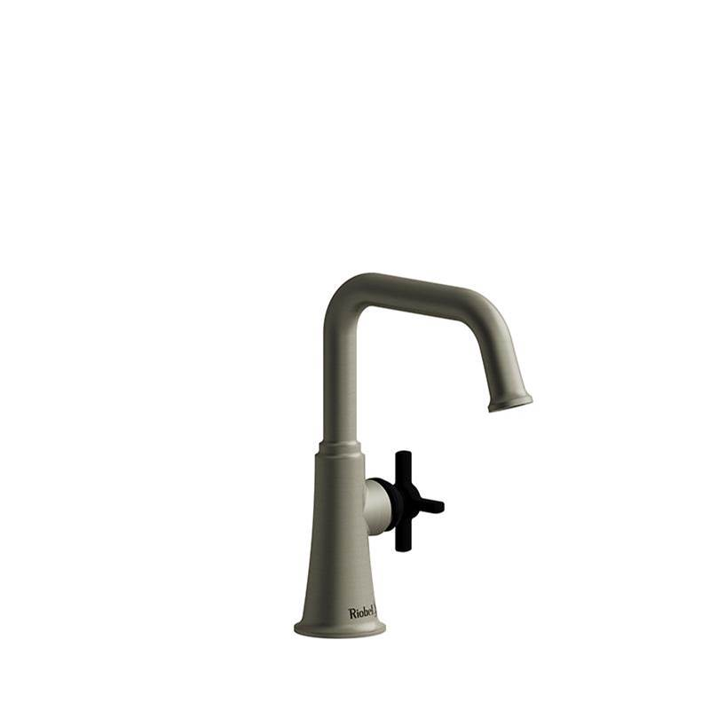Riobel Single Hole Bathroom Sink Faucets item MMSQS00+BNBK