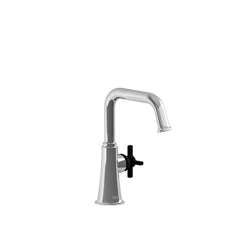 Riobel Single Hole Bathroom Sink Faucets item MMSQS00+CBK