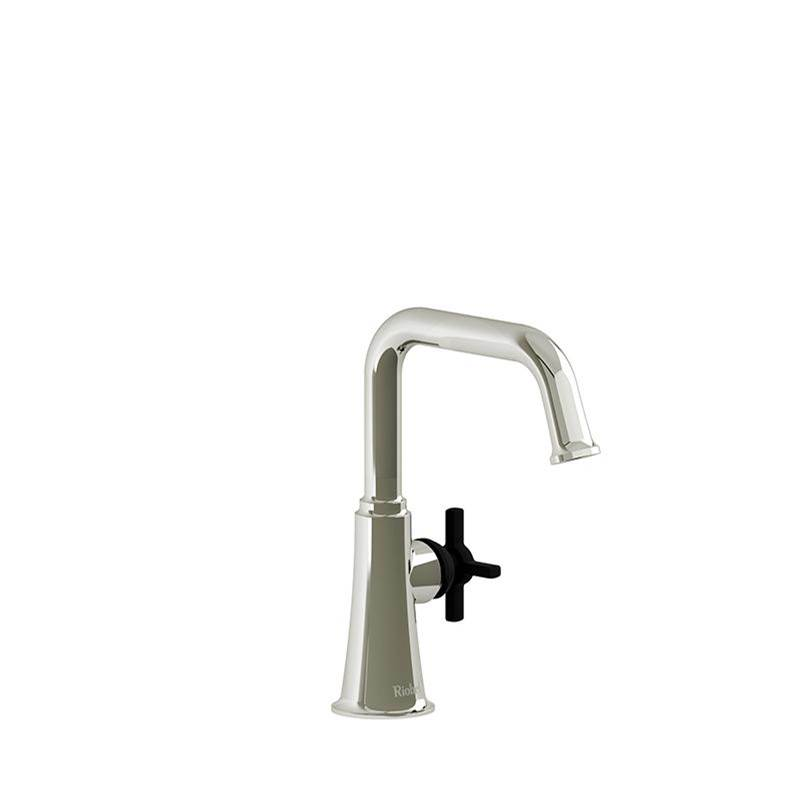 Riobel Single Hole Bathroom Sink Faucets item MMSQS00+PNBK