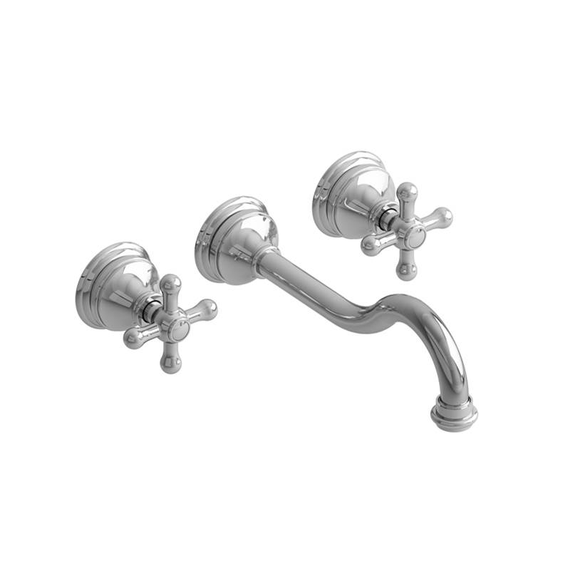 Riobel Wall Mounted Bathroom Sink Faucets item RT03+PN-10