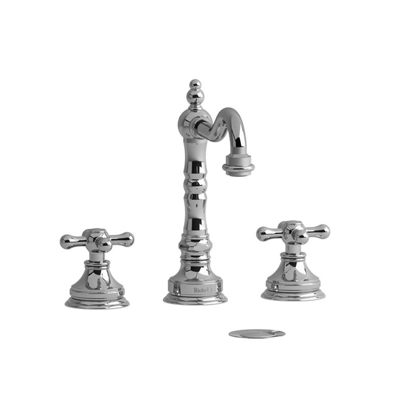 Riobel Widespread Bathroom Sink Faucets item RT08+PN-05