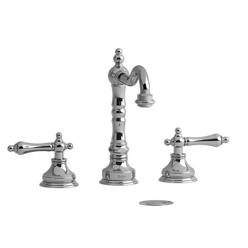 Riobel Widespread Bathroom Sink Faucets item RT08LBN-10