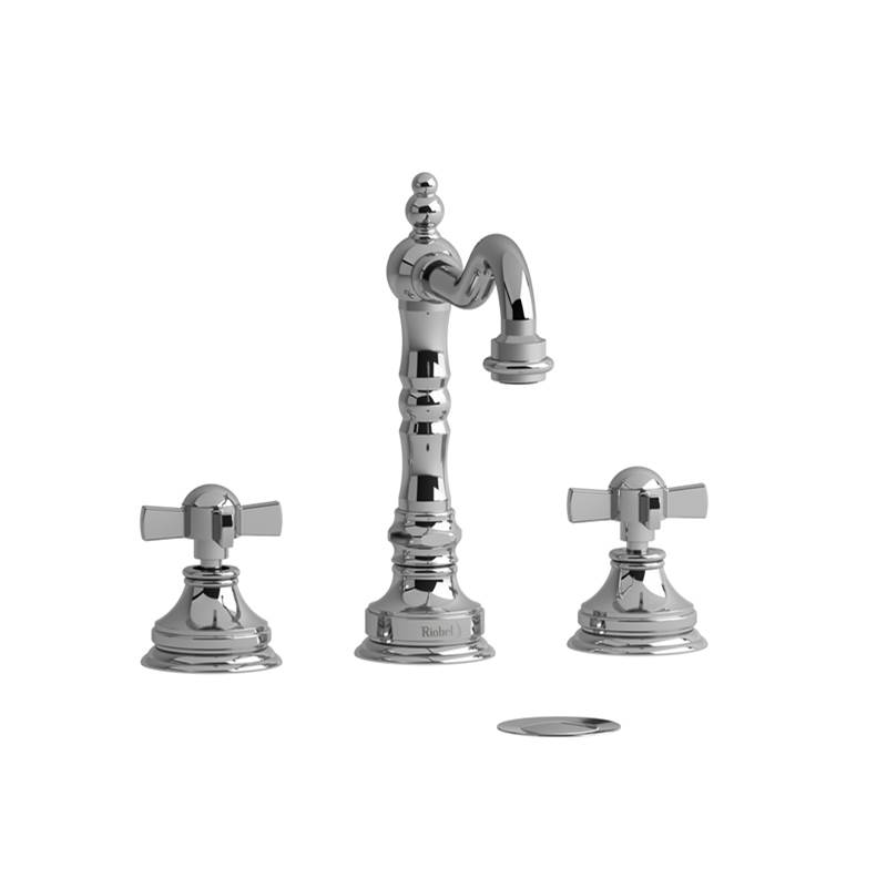 Riobel Widespread Bathroom Sink Faucets item RT08XBN-10