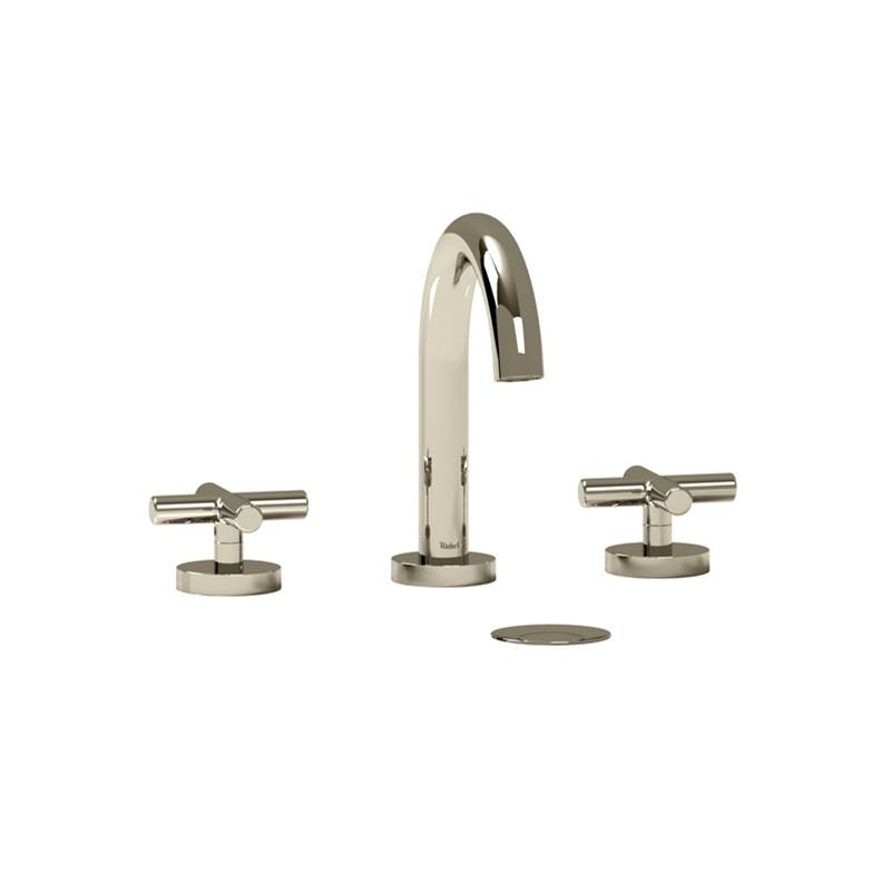 Riobel Widespread Bathroom Sink Faucets item RU08+PN