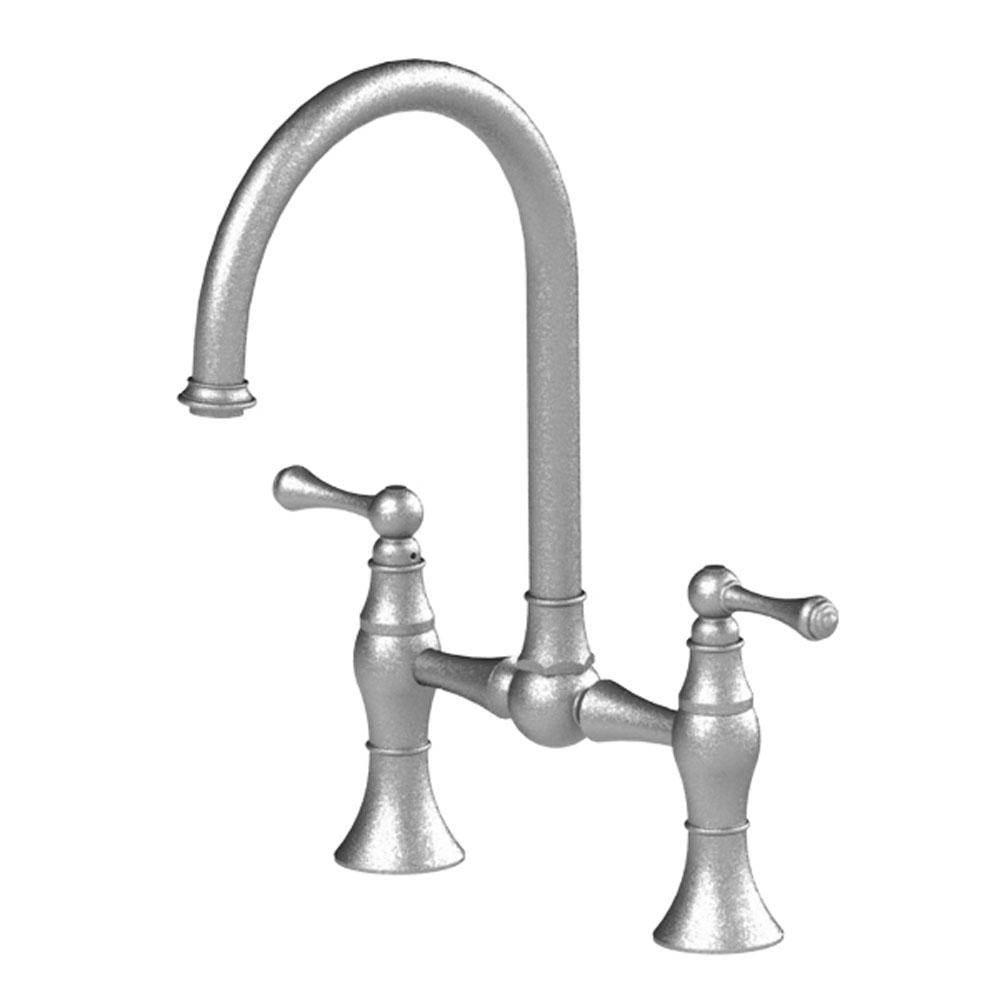 Rubinet Canada 8vfmcsngd At Bathworks Showrooms Bridge Kitchen Faucets In A Decorative Gold Finish