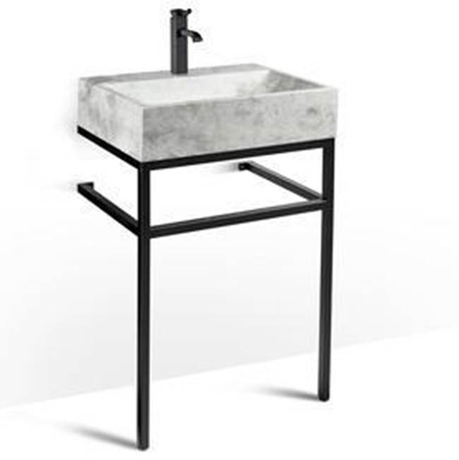 Unik Stone Canada Vanity Combos With Countertops Vanity Sets item VBT-024+LMS-024