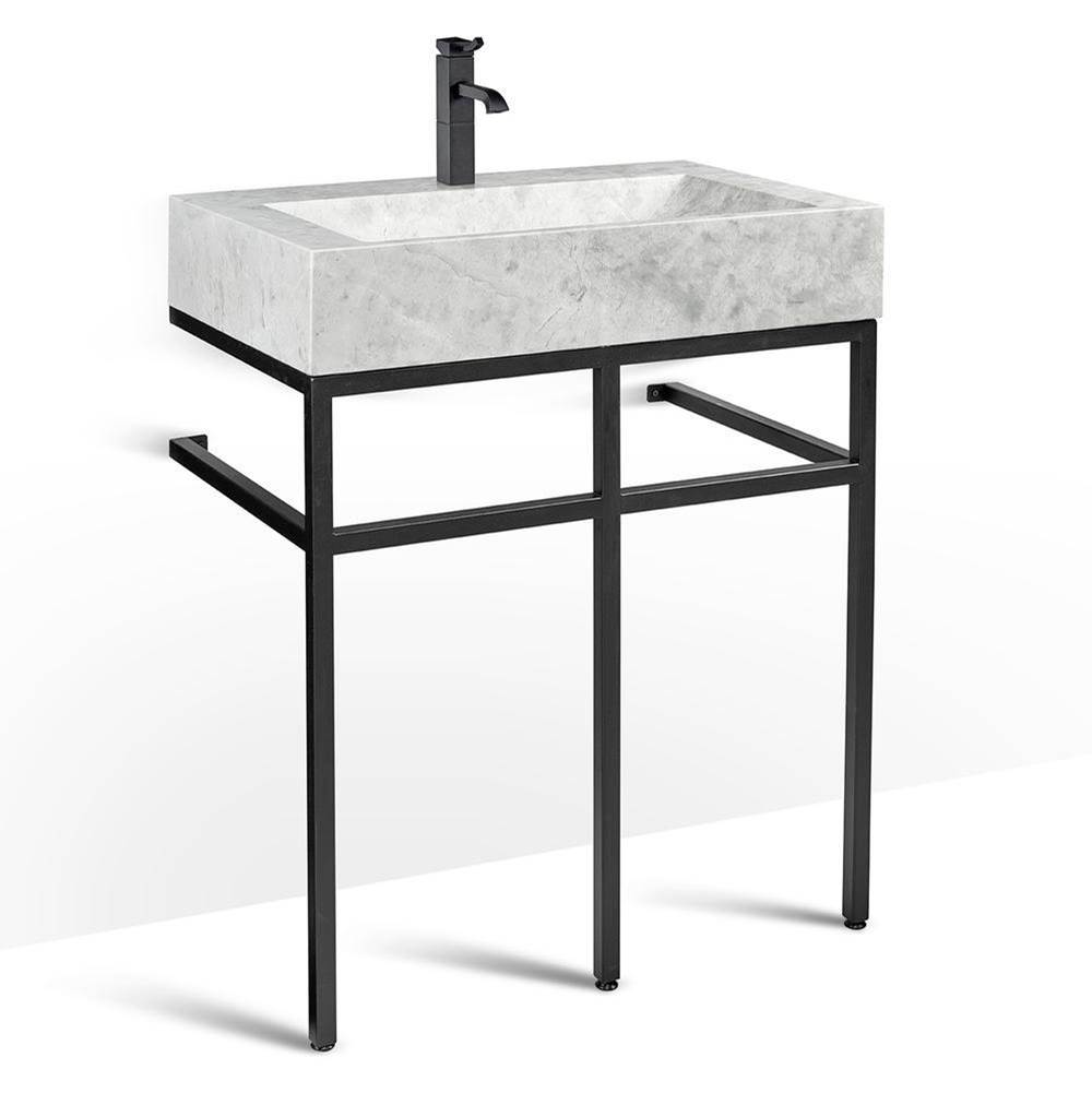 Unik Stone Canada Vanity Combos With Countertops Vanity Sets item VBT-030+LMS-030