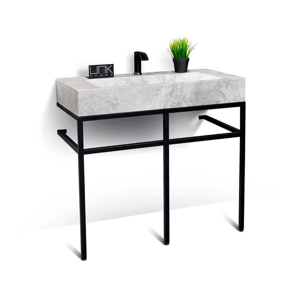 Unik Stone Canada Vanity Combos With Countertops Vanity Sets item VBT-039+LMS-039